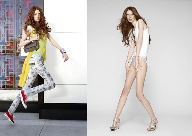 """4 người mẫu nữ có chiều cao """"khủng"""" nhất thế giới - 6"""