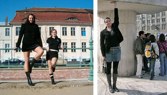 """4 người mẫu nữ có chiều cao """"khủng"""" nhất thế giới - 1"""