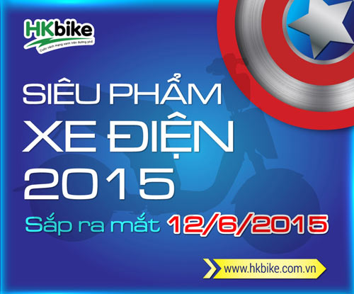 Siêu phẩm xe điện mới của HKbike sẽ có giá hời - 1