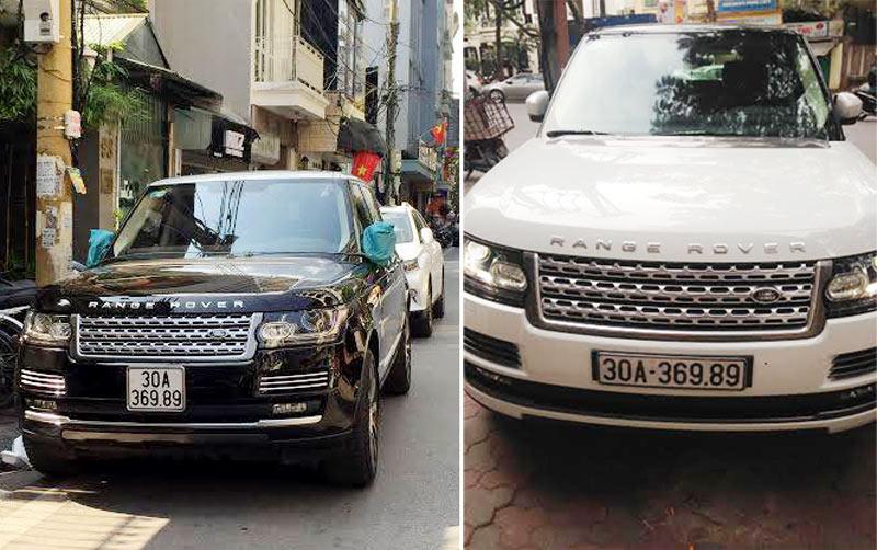 Làm rõ vụ 2 xe Range Rover tiền tỷ chung biển số ở Hà Nội - 1