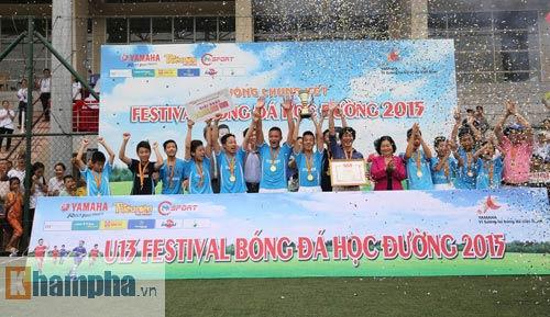 Festival bóng đá học đường: U13 Ngọc Lâm xuất sắc giành vé đi Nhật - 2