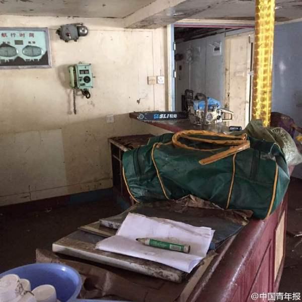 Cận cảnh bên trong con tàu chìm ở Trung Quốc - 6