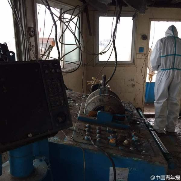 Cận cảnh bên trong con tàu chìm ở Trung Quốc - 8
