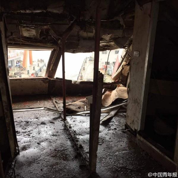 Cận cảnh bên trong con tàu chìm ở Trung Quốc - 9