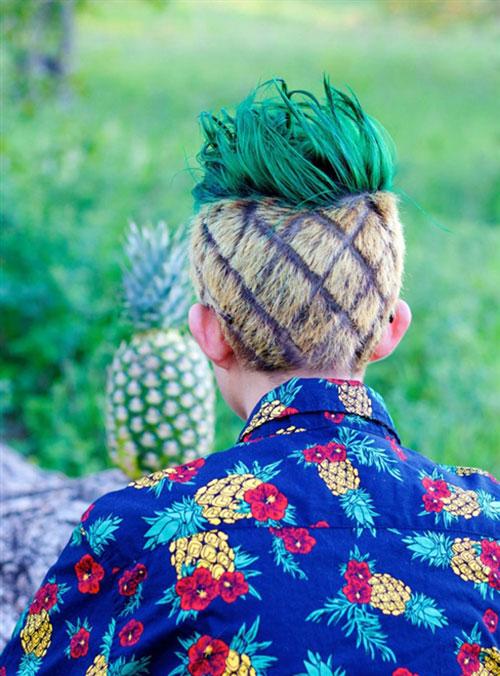 """Học kém, nam sinh buộc phải cắt tóc kiểu """"quả dứa"""" - 2"""