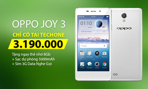TechOne khuyến mại cực lớn khi mua OPPO - 2