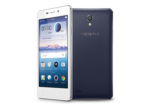 Ra mắt Oppo Joy 3 chip lõi tứ, giá mềm - 1