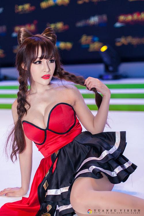 Mẫu game bị giới hạn độ ngắn của váy sau luật cấm sexy - 3