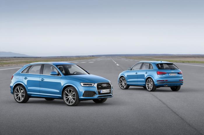 Audi Q3 2016 có giá 33.700 USD tại Mỹ - 1