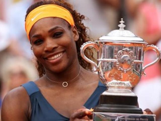 Serena Williams cán mốc 70 triệu USD tiền thưởng