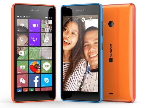 "Selfie thật ""chất"" với Microsoft Lumia 540 - 4"