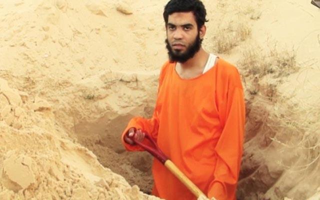 """IS bắt """"điệp viên"""" Israel tự đào huyệt chôn mình - 1"""