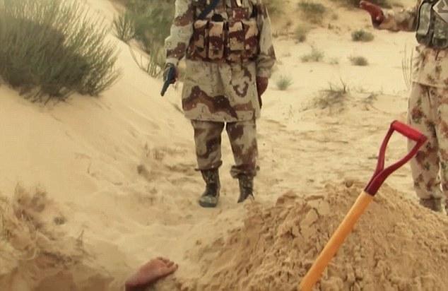 """IS bắt """"điệp viên"""" Israel tự đào huyệt chôn mình - 3"""