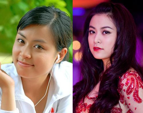 1434022246 oxue2 xvoe Sững sờ trước sự thay đổi nhan sắc của 6 mỹ nhân Việt