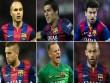 Barca thống trị danh sách cầu thủ xuất sắc nhất C1
