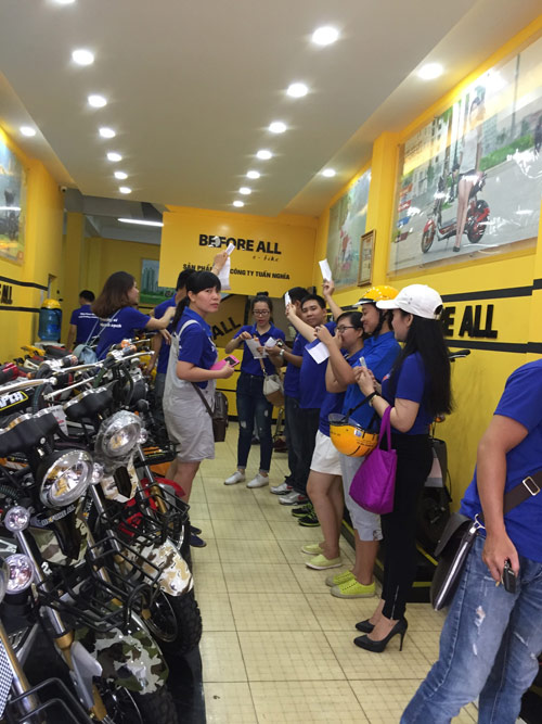 Xe điện Before All: Chung tay vì môi trường xanh - sạch hơn! - 3