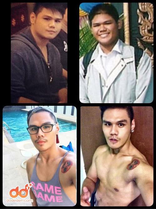1434092146 djcos 22855741 qgkk Chàng béo Thái Lan trở thành hot boy nhờ giảm nửa tạ