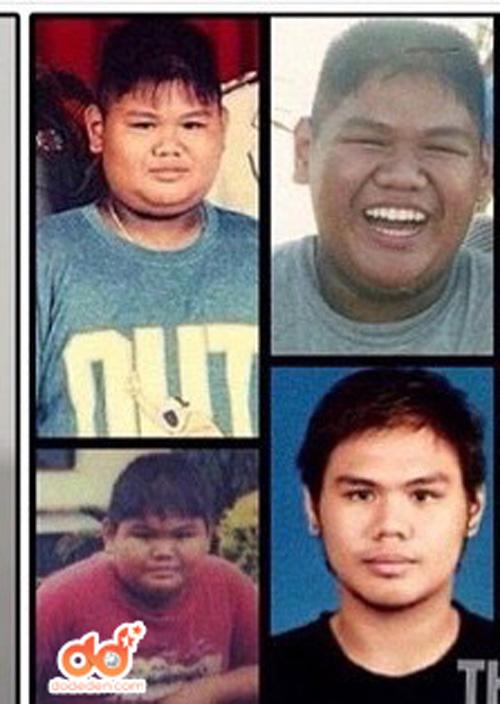 1434092146 fkxis 22855711 jndp Chàng béo Thái Lan trở thành hot boy nhờ giảm nửa tạ