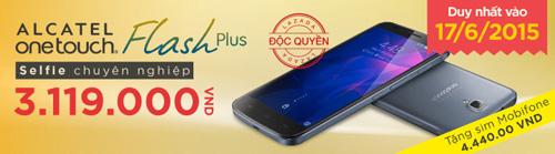 11h trưa nay Alcatel Onetouch Flash Plus mở bán với số lượng có hạn - 1