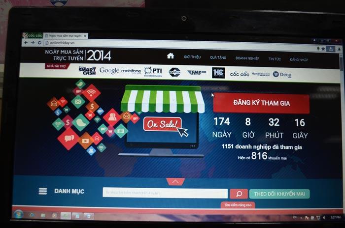 VN sắp tổ chức ngày mua sắm trực tuyến Online Friday 2015 - 1