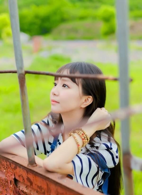 Vẻ đẹp ngọt ngào của hoa khôi báo chí - 9