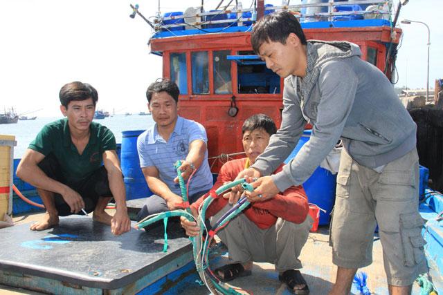 """4 tàu """"lạ"""" chèn ép, cướp tài sản tàu cá VN trên biển Hoàng Sa - 3"""