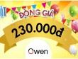 Owen - Mừng sinh nhật, bật giá tốt!