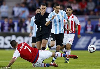 TRỰC TIẾP Argentina – Paraguay: Kết thúc có hậu (KT) - 4