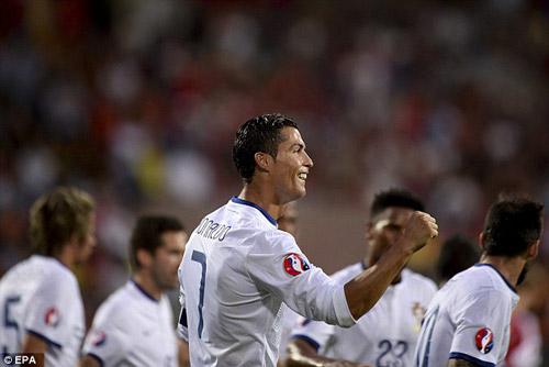 Ronaldo ngây ngất với cú hat-trick cùng ĐT BĐN - 2