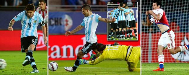 Messi nổi giận, ĐT Argentina mắc sai lầm - 1