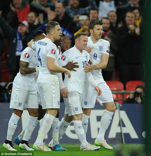 Slovenia – Anh: Cảm hứng từ Rooney - 1
