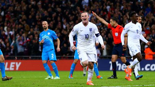 Slovenia – Anh: Cảm hứng từ Rooney - 2