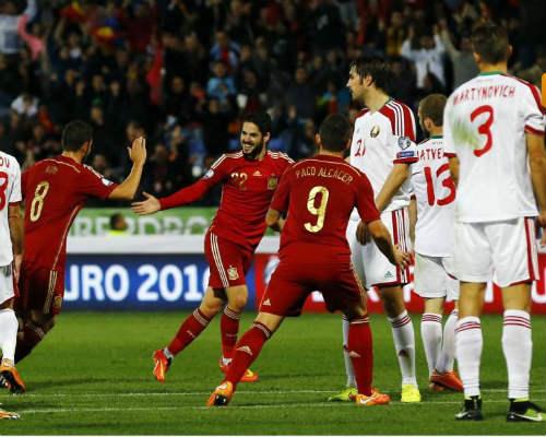 Belarus -Tây Ban Nha: Quyết giành 3 điểm - 1