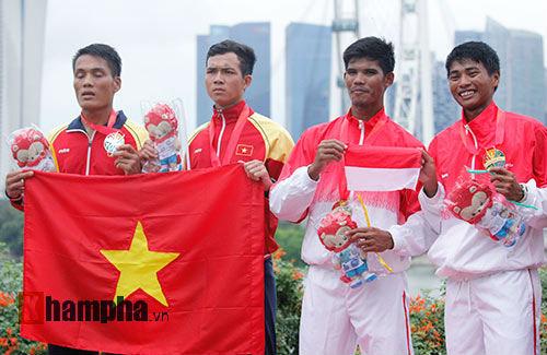 Nam VĐV Việt Nam khóc ngất vì mất vàng SEA Games - 8