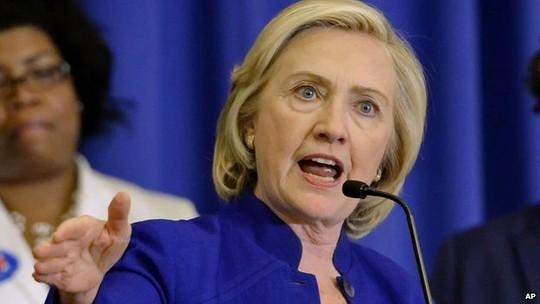 Bà Hillary phát động chiến dịch tranh cử tổng thống - 1
