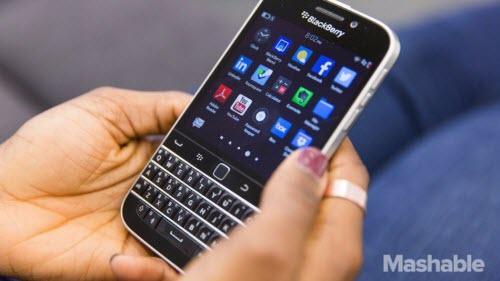 BlackBerry chuyển sang sử dụng hệ điều hành Android - 1