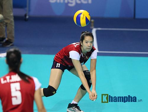 """Hot girl bóng chuyền VN muốn gây """"sốc"""" với Thái Lan - 4"""