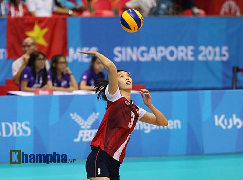 """Hot girl bóng chuyền VN muốn gây """"sốc"""" với Thái Lan - 2"""