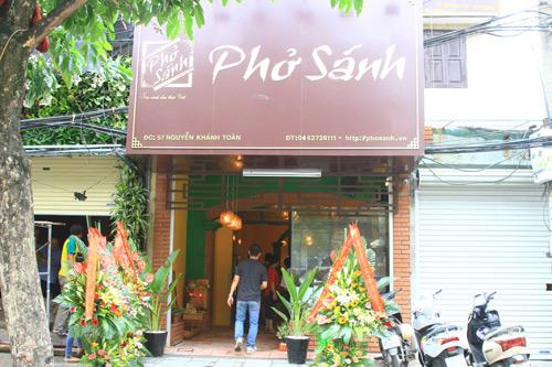 Phở Sánh - Nơi tôn vinh ẩm thực Việt - 3