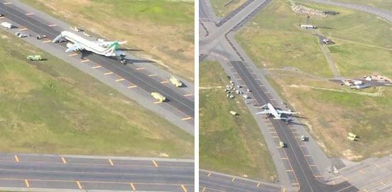 Mỹ: Cảnh sát vây kín máy bay vì đe dọa đánh bom - 4
