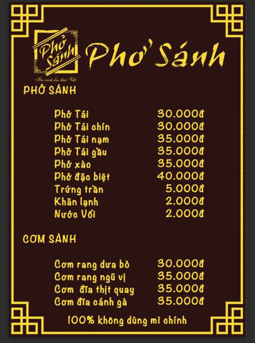 Phở Sánh - Nơi tôn vinh ẩm thực Việt - 5