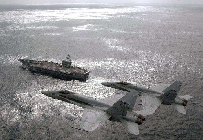 """Mỹ điều siêu tàu sân bay tới """"trấn giữ"""" châu Á - 2"""