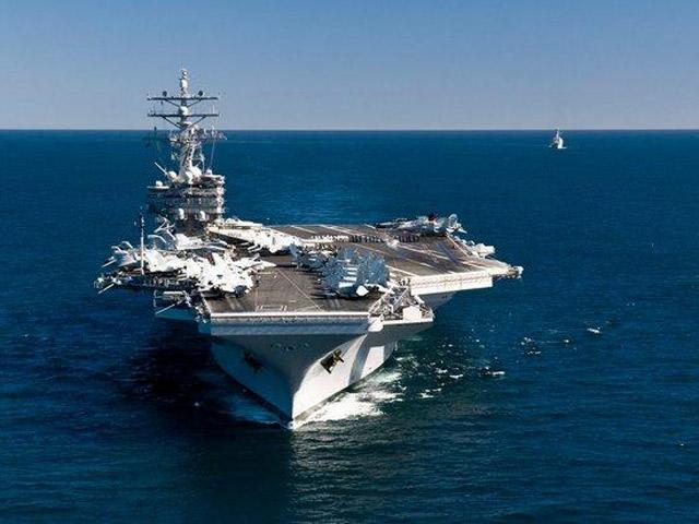 """Mỹ điều siêu tàu sân bay tới """"trấn giữ"""" châu Á - 1"""