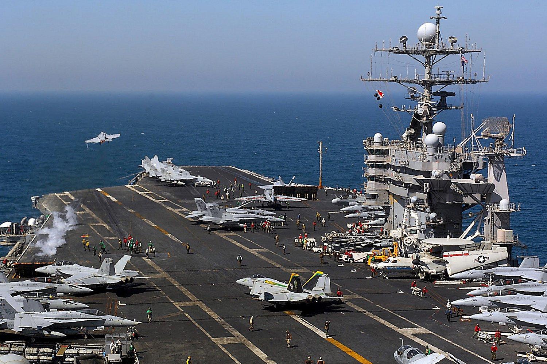 """Mỹ điều siêu tàu sân bay tới """"trấn giữ"""" châu Á - 3"""