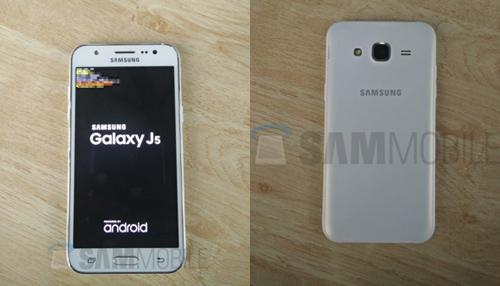 Samsung Galaxy J5 lộ ảnh thực tế, giá mềm - 1