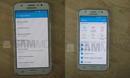 Samsung Galaxy J5 lộ ảnh thực tế, giá mềm - 2