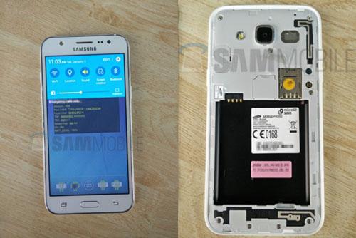 Samsung Galaxy J5 lộ ảnh thực tế, giá mềm - 3