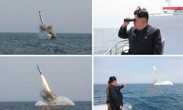 """Kim Jong-un ca ngợi tên lửa chống hạm """"siêu thông minh"""" - 1"""