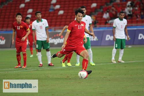 "U23 Việt Nam - U23 Indonesia: Chiến thắng ""5 sao"" - 1"