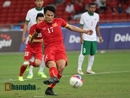 """U23 Việt Nam """"bùng cháy"""" trước U23 Indonesia tri ân CĐV - 5"""
